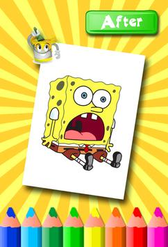 Sponebob Coloring Pages screenshot 3