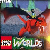 Lego Worlds  stream icon