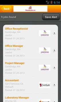Hospitality Jobs apk screenshot