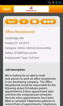Hospitality Jobs screenshot 2