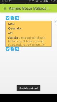 KBBI + Kamus Gaul + Singkatan apk screenshot