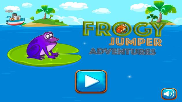 Frogy Jumper - Tap Frog to jump Adventures screenshot 1