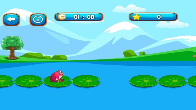 Frogy Jumper - Tap Frog to jump Adventures screenshot 2