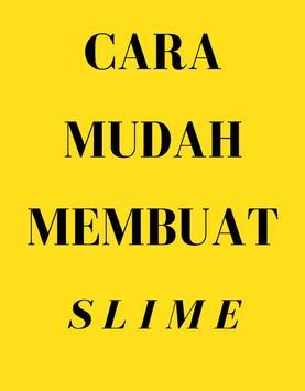 Cara Mudah Membuat Slime poster