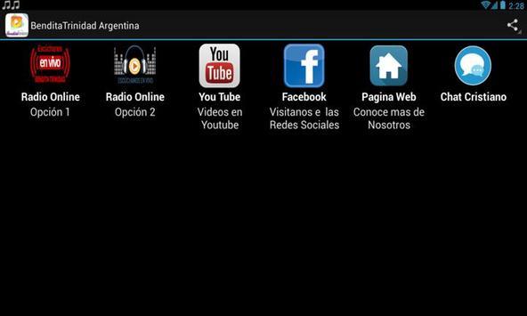 BenditaTrinidad Argentina apk screenshot