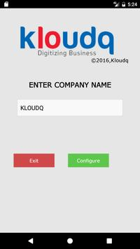 Kloudq People apk screenshot