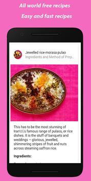 Recipes apk screenshot