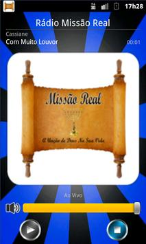 RADIO MISSÃO REAL poster