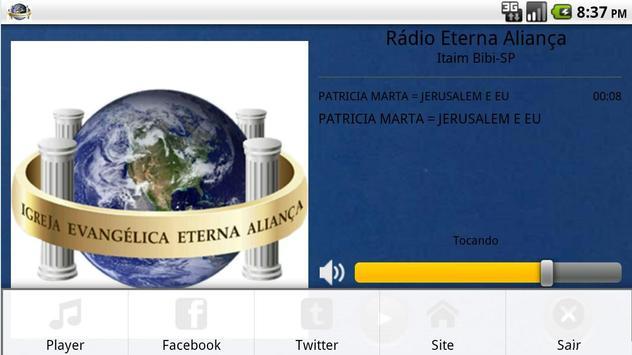 Rádio Eterna Aliança screenshot 3