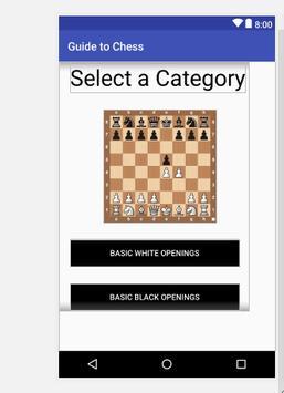 Chess Cheat Sheet poster