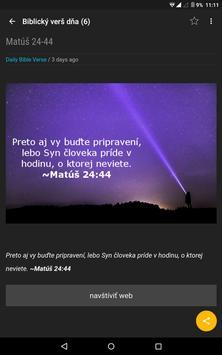 Biblický verš dňa apk screenshot