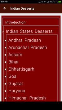 Indian Desserts poster