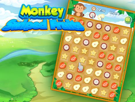Swiped Fruits Monkeys screenshot 3