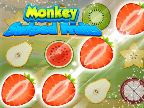 Swiped Fruits Monkeys poster