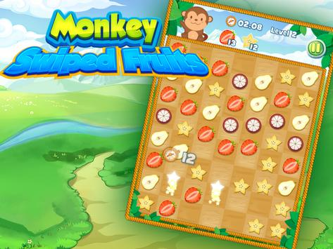 Swiped Fruits Monkeys screenshot 1