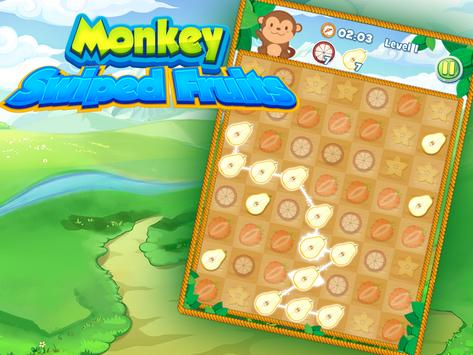 Swiped Fruits Monkeys screenshot 2