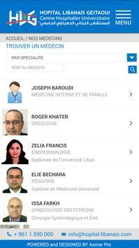 Hopital Libanais apk screenshot
