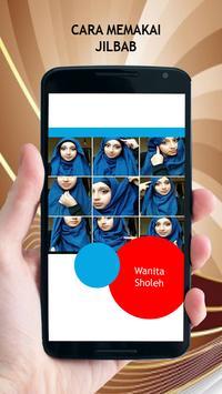 Cara Memakai Jilbab poster