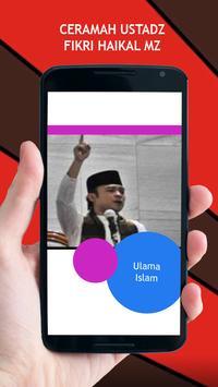Ceramah Ustadz Fikri Haikal MZ poster