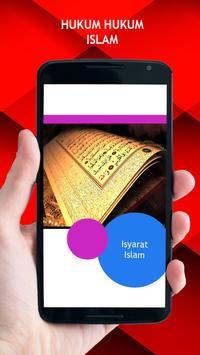 Hukum Hukum Islam poster
