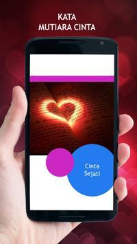 Kata Mutiara Cinta poster