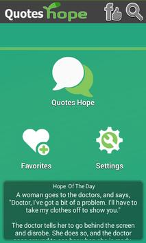 Quotes Hope apk screenshot