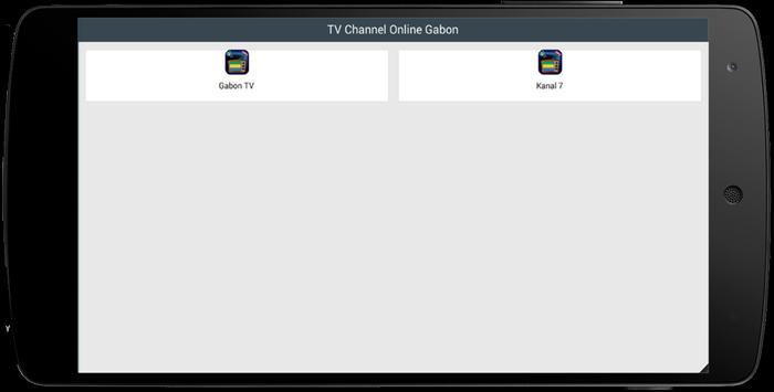 TV Channel Online Gabon poster