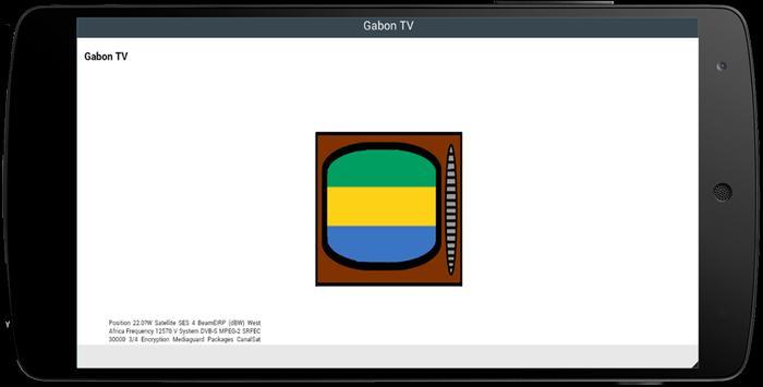 TV Channel Online Gabon screenshot 1