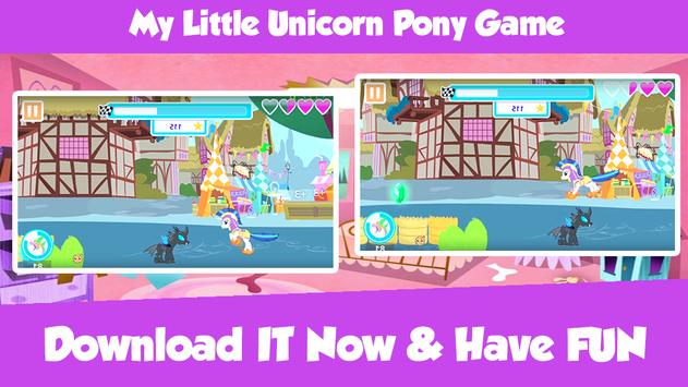 My Little Unicorn Pony Game poster