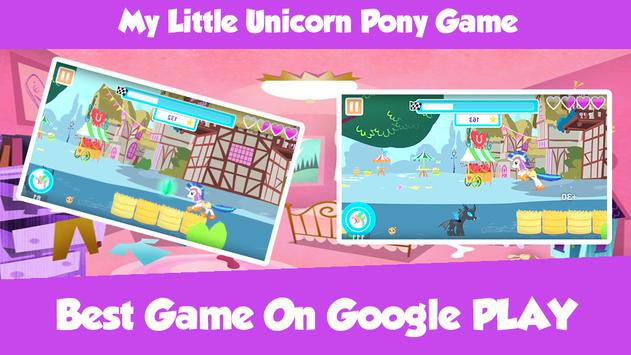 My Little Unicorn Pony Game screenshot 1