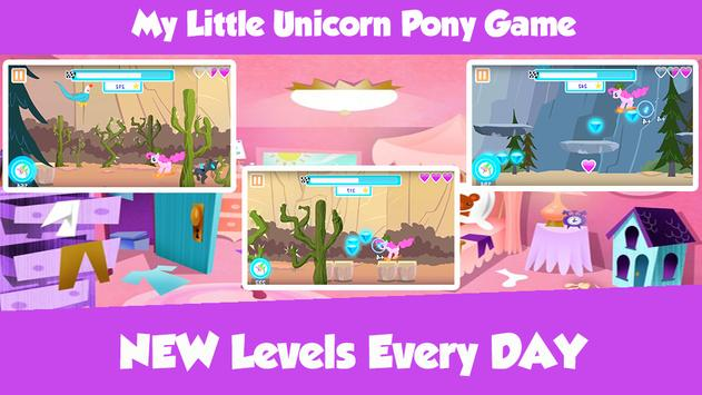 My Little Unicorn Pony Game screenshot 2
