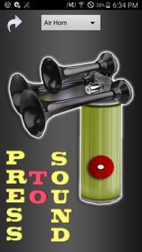 Air Horn Plus poster