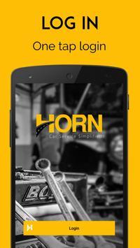 Horn-car services & repair poster