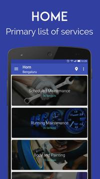 Horn-car services & repair apk screenshot