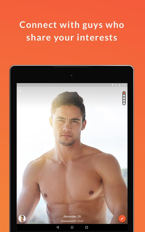 The app makes your connection with gay or bisexual guys easy and fun
