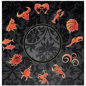 Gold Horoscope Zodiac Signs icon