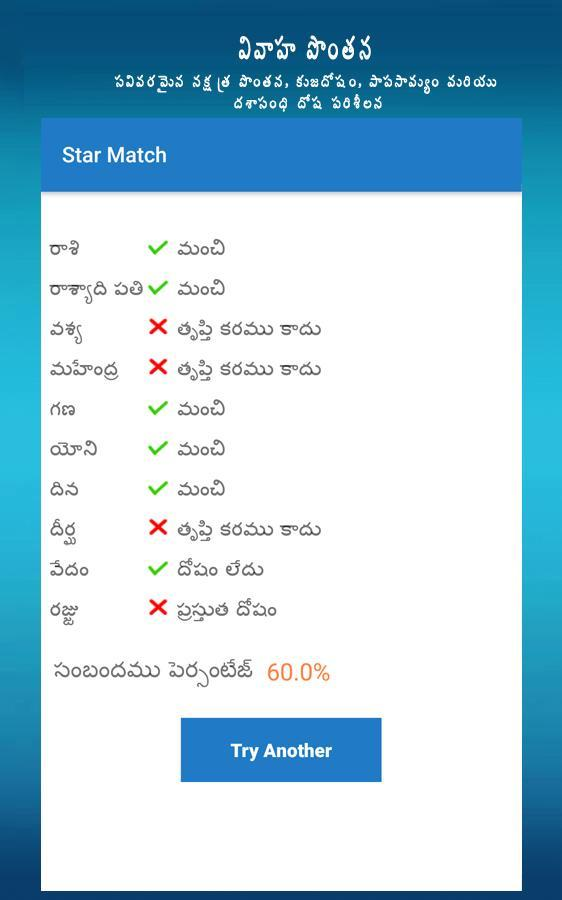Horoscope in Telugu for Android - APK Download
