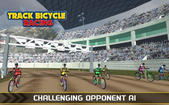 Track Cycling BMX Top Bicycle Race poster