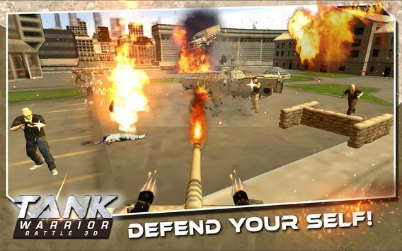 Tank Warrior Battle 3D poster