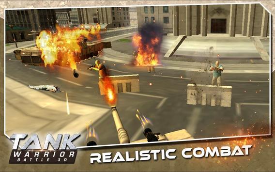 Tank Warrior Battle 3D apk screenshot