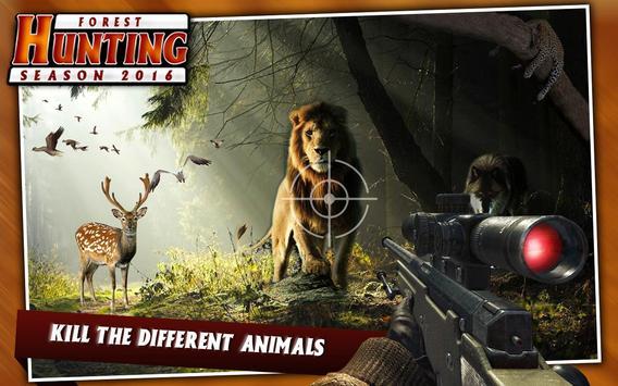 Forest Sniper Hunting Season Wild Jungle Hunter poster