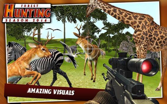 Forest Sniper Hunting Season Wild Jungle Hunter apk screenshot