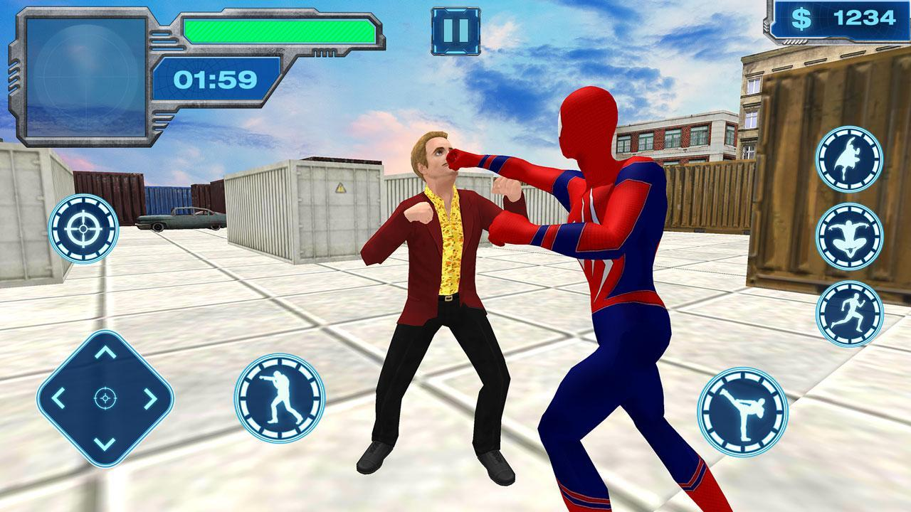 Flying Iron Spider - Rope Superhero for Android - APK Download