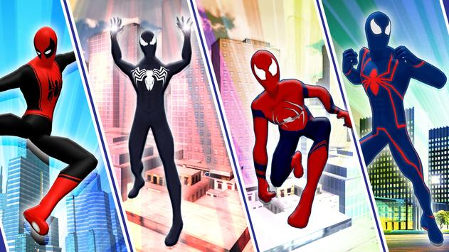 Flying Iron Spider - Rope Superhero screenshot 3