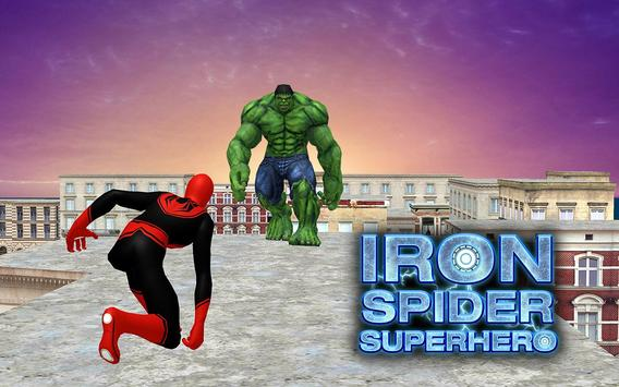 Flying Iron Spider - Rope Superhero screenshot 5
