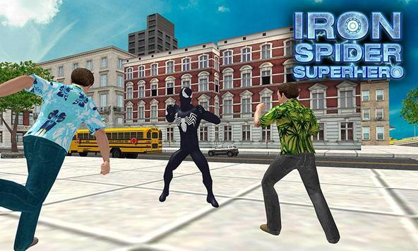 Flying Iron Spider - Rope Superhero screenshot 6