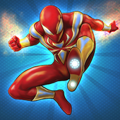 Flying Iron Spider Hero Adventure icon