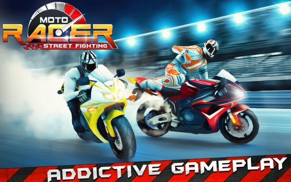 Moto Street Fighting Racer poster