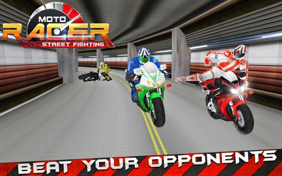 Moto Street Fighting Racer screenshot 3