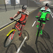 Track Cycling BMX Bicycle 1000 Meter Fun Ride icon